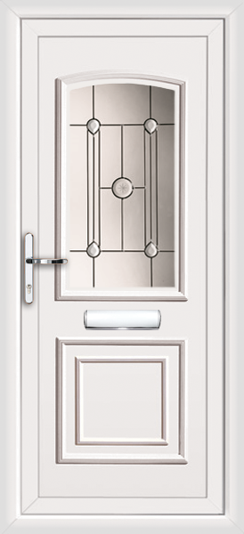 Low priced pvc door